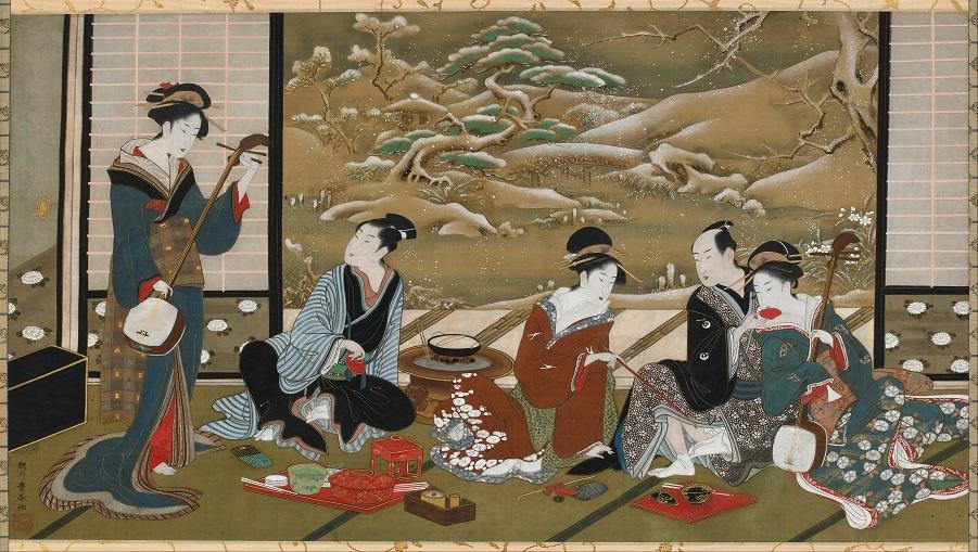 Utagawa_Toyoharu_-_A_Winter_Party_-_Google_Art_Project (1)