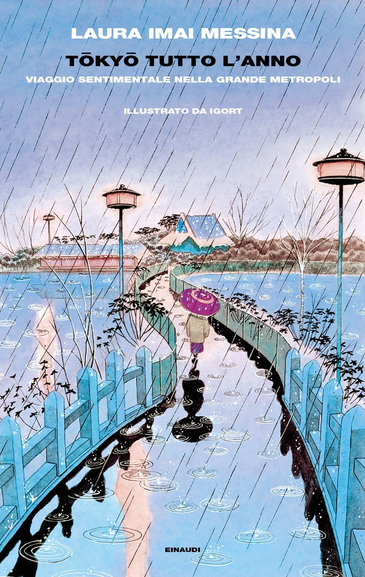 La copertina del Tōkyō tutto l'anno di Laura Imai Messina